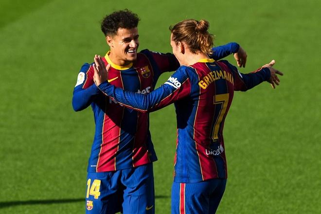 Coutinho và Griezmann đều là những BHĐ đắt đỏ, hiệu quả thấp của Barca