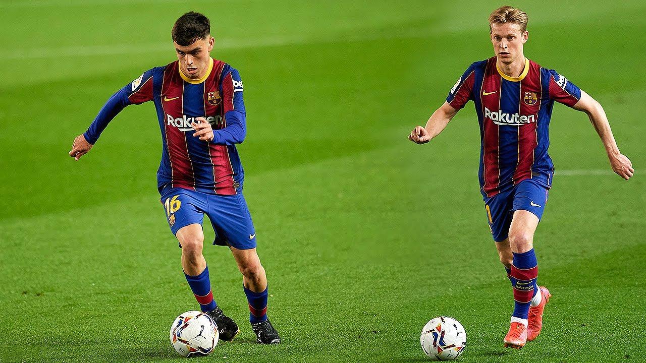 Pedri và De Jong đang là 2 tiền vệ trẻ tài năng nhất thế giới