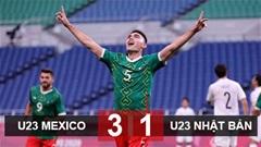 Kết quả U23 Mexico 3-1 U23 Nhật Bản: Đòi nợ thành công, U23 Mexico giành huy chương đồng Olympic Tokyo 2020