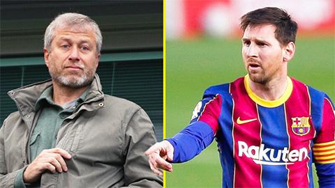 Tin giờ chót 6/8: Abramovich cân nhắc đưa Messi về Chelsea