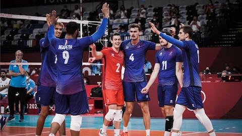 Olympic Tokyo 2020: Pháp lần đầu giành HCV bóng chuyền nam