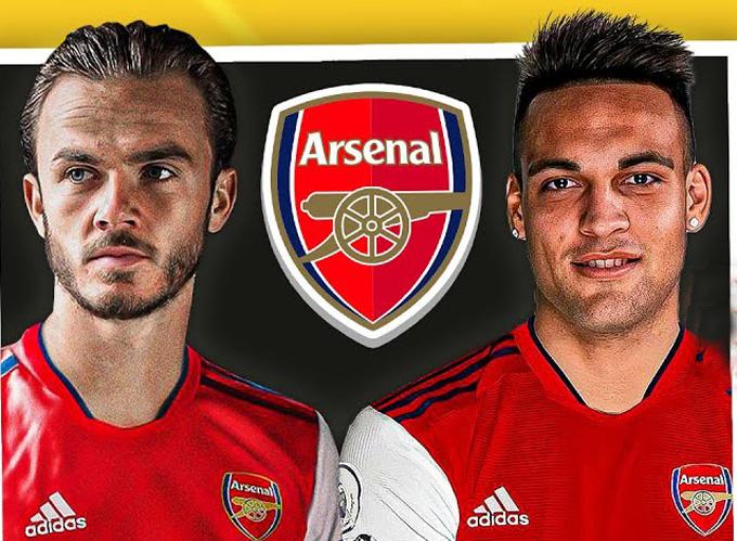 Arsenal đang nhắm đến Maddison và Lautaro