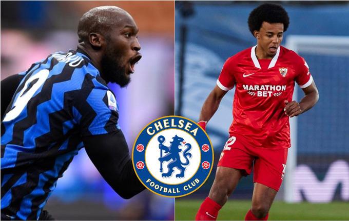 Mục tiêu của Chelsea là Lukaku và Kounde