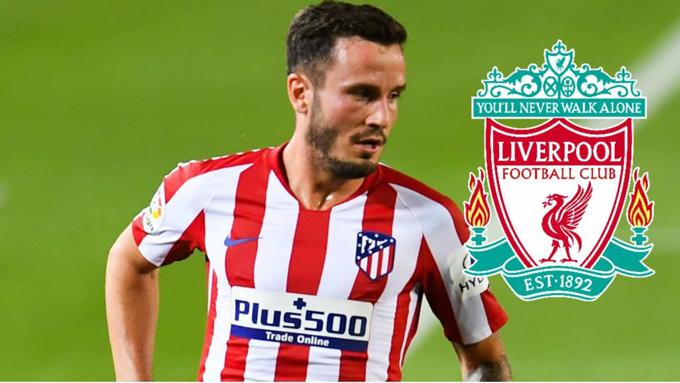 Liverpool nhắm Saul Niguez của Atletico