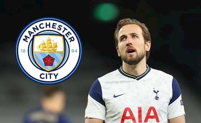 Kane là mục tiêu số 1 của Man City