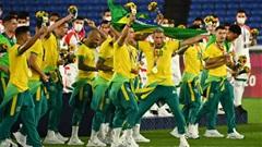 Điểm nhấn Olympic Tokyo 2020 ngày 7/8: Brazil giành HCV bóng đá nam