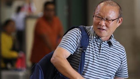 HLV Park Hang Seo hết hạn cách ly, cầm sa bàn ở ĐT Việt Nam
