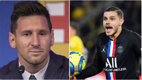 Icardi khó còn đất sống ở PSG vì bị Messi 'ghét'?