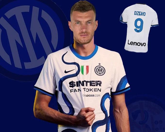 Dzeko nhiều khả năng sẽ đá cho Inter mùa tới