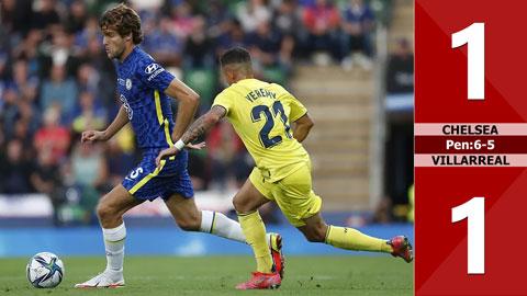 Chelsea vs Villarreal: 1-1, pen: 6-5 (Siêu cúp châu ÂU 2021)