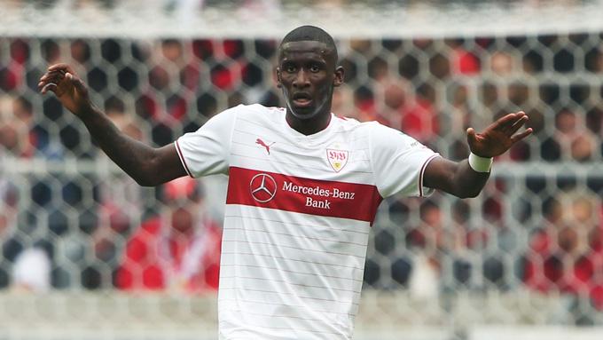 Rudiger trong màu áo VfB Stuttgart