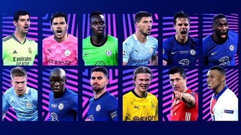 Chelsea góp 5 ứng cử viên Cầu thủ xuất sắc nhất Champions League