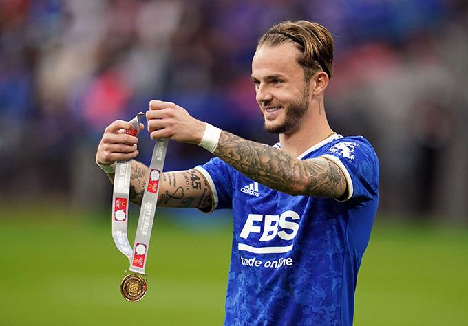FA Cup đang là danh hiệu cao quý nhất mà Maddison có trong sự nghiệp