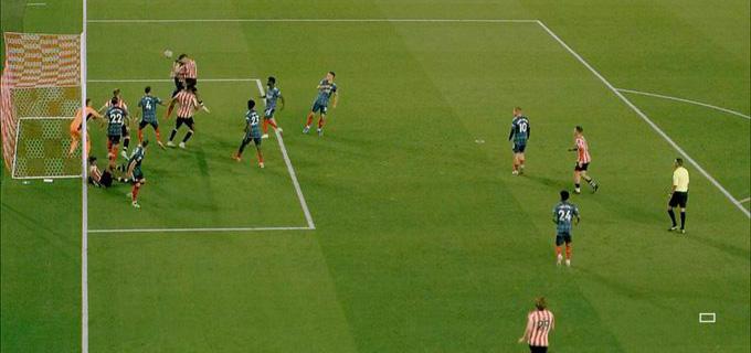 Bàn thắng thứ 2 trong trận Brentford vs Arsenal
