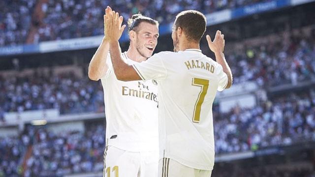 Bộ ba Benzema - Bale - Hazard đã có những pha phối hợp biến hóa để phá nát hàng thủ Alaves