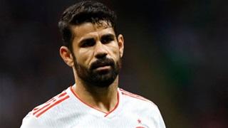 Diego Costa lần đầu chơi bóng ở Brazil