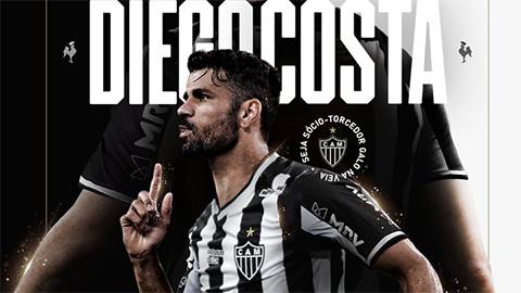 'Mãnh thú' Diego Costa tái xuất sân cỏ sau gần 1 năm vắng bóng