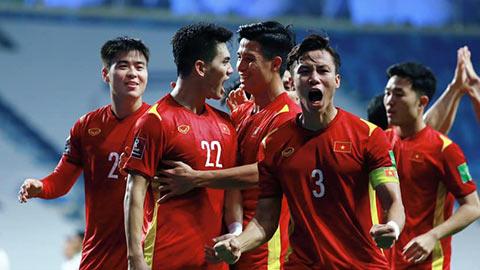 BXH FIFA tháng 8/2021: ĐT Việt Nam giữ hạng 92 thế giới, Thái Lan tụt 14 bậc