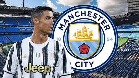 Ronaldo đánh tiếng muốn tới Man City