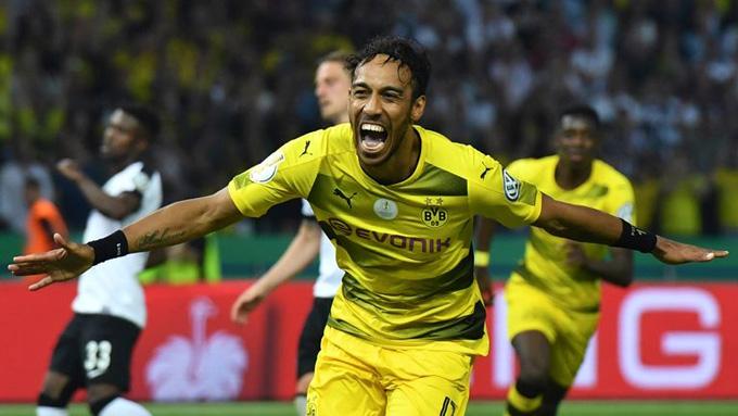 Aubameyang thời còn khoác áo Dortmund