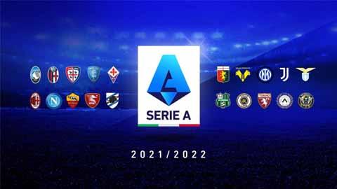Lịch thi đấu và trực tiếp Serie A hôm nay, mới nhất