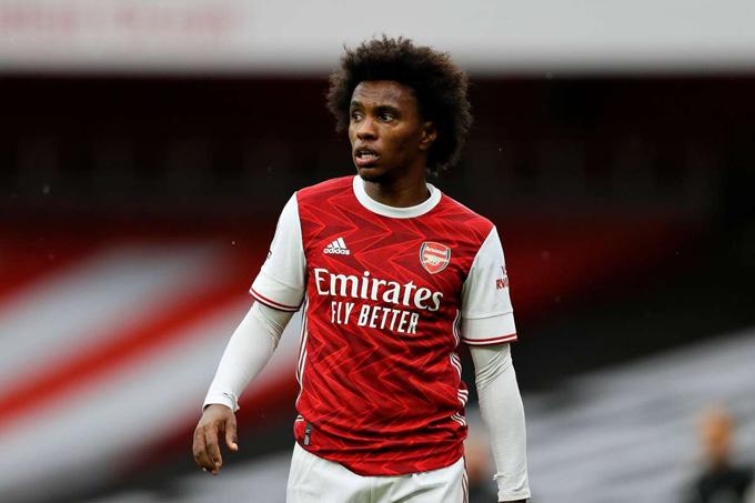 Willian hưởng lương cao nhưng không đóng góp nhiều cho Arsenal