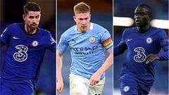 De Bruyne có gì để tranh giải Cầu thủ hay nhất năm của UEFA với Kante và Jorginho?
