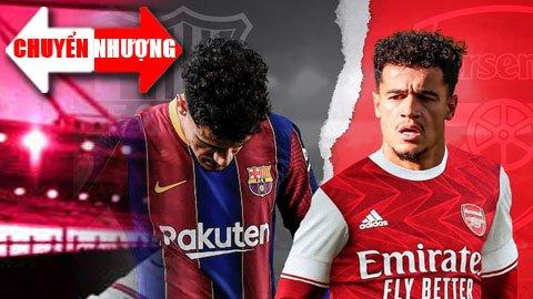 Tin chuyển nhượng 20/8: Arsenal được khuyên mua Coutinho