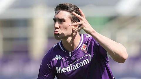 Man City chi 80 triệu euro mua Vlahovic nếu vụ Kane đổ bể