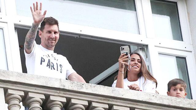 Gia đình Messi vẫn phải ở tạm khách sạn Le Royal Monceau