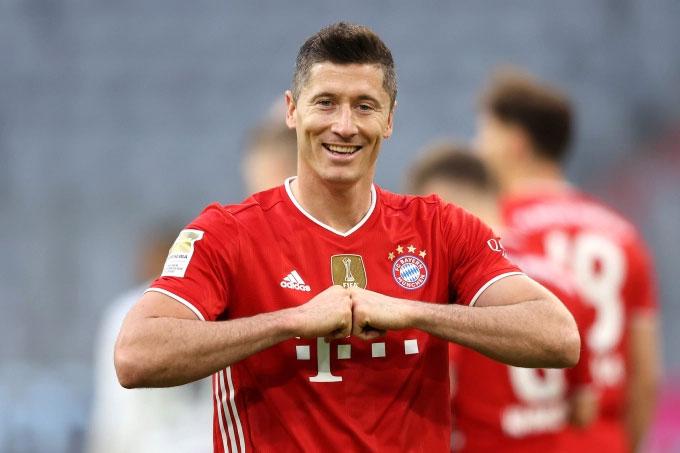 Lewandowski là trụ cột của Bayern từ nhiều năm nay