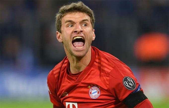 Mueller đến giờ vẫn chỉ chơi cho 1 CLB là Bayern