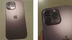 Xuất hiện iPhone 13 Pro phiên bản màu vàng hồng mới?