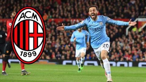 Milan tính giải cứu Bernardo Silva, mở cửa cho Kane tới Man City