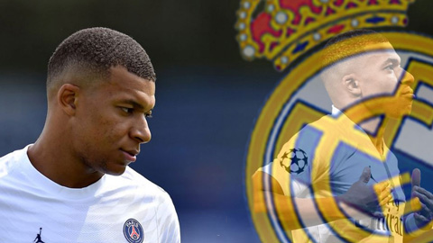 Mbappe có thể ký hợp đồng với Real vào tháng 1/2022