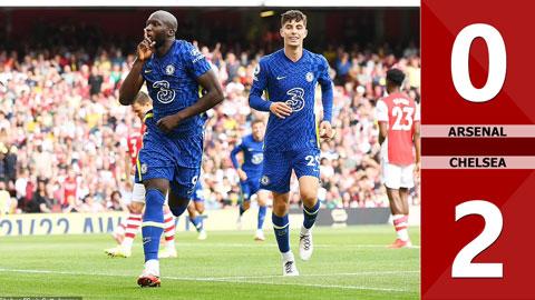 Arsenal vs Chelsea: 0-2 (Vòng 2 Ngoại hạng Anh 2021/22)