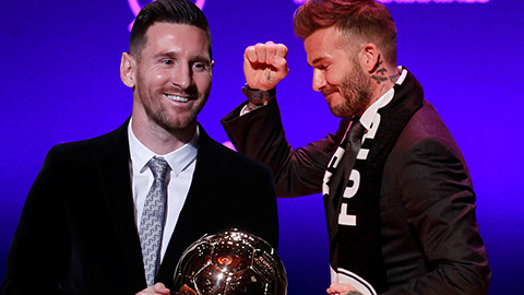Messi được Beckham 'đặt gạch' dù chưa đá cho PSG