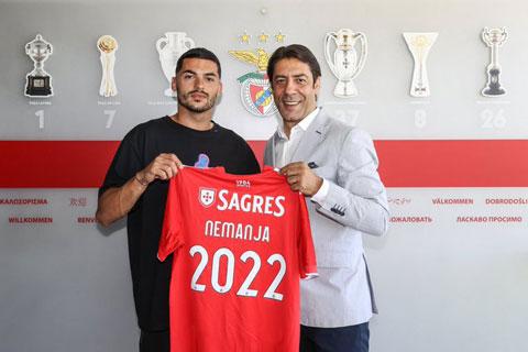 Benfica chiêu mộ thành công Radonjic theo dạng mượn 1 năm