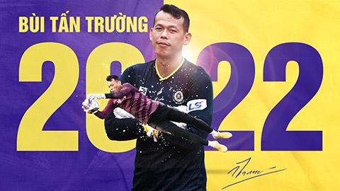 Gia hạn với Hà Nội FC, Tấn Trường đặt mục tiêu vô địch V.League