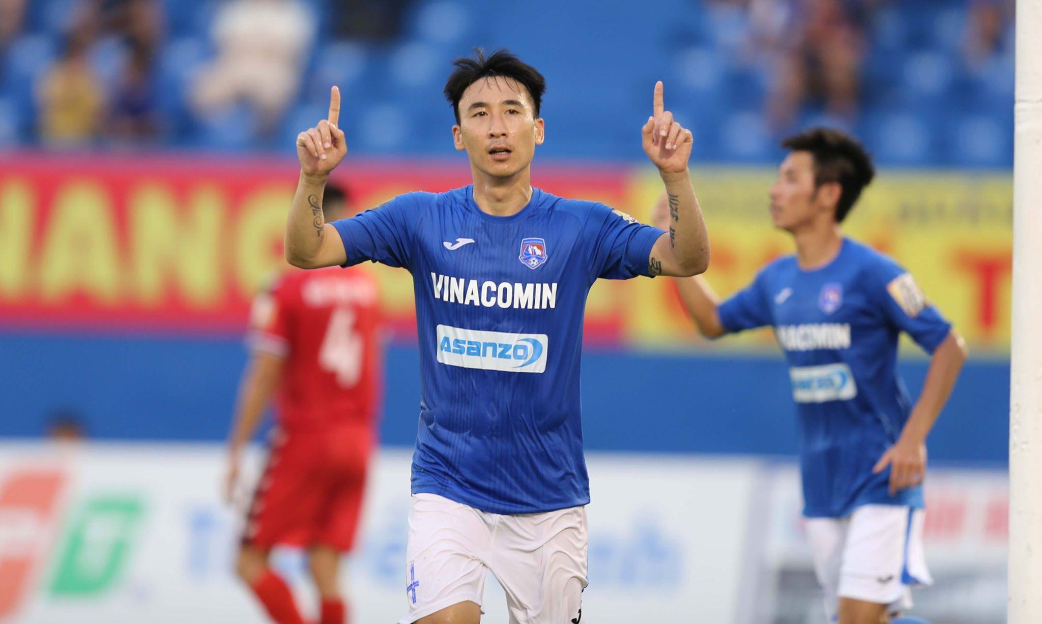 Hải Huy là cầu thủ đầu tiên được Than Quảng Ninh thanh lý hợp đồng và khất nợ