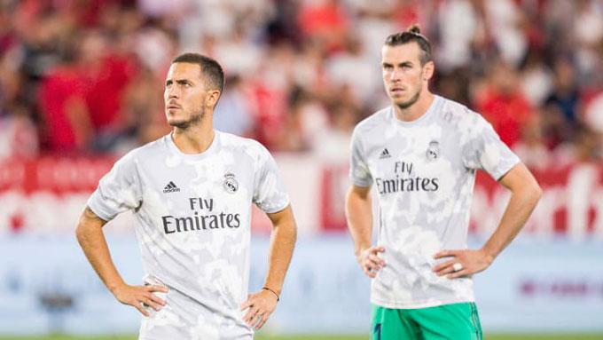 Những cầu thủ đá cánh hiện tại của Real như Hazard và Bale đều không có được phong độ cao và sự ổn định