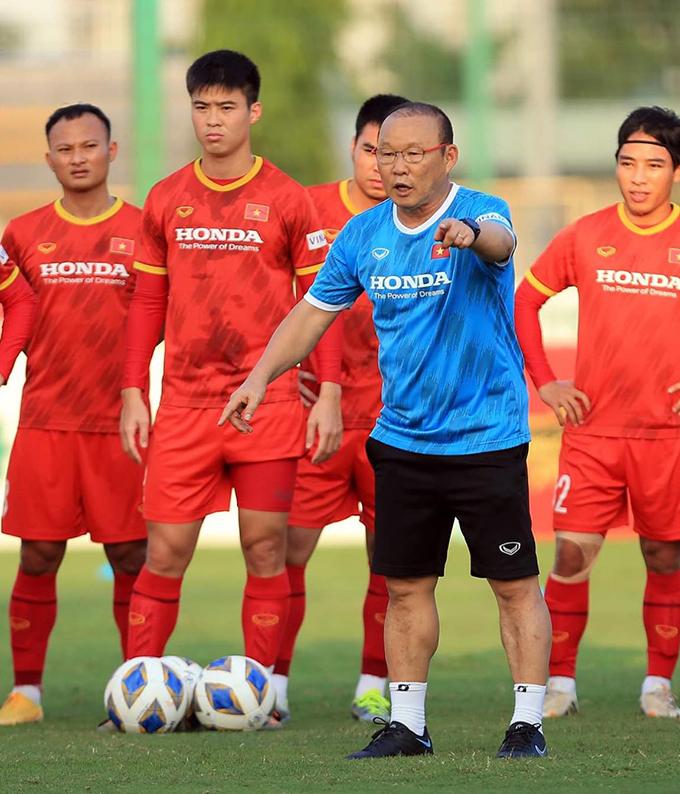 Thầy trò HLV Park Hang Seo phải thể hiện hình ảnh khác vo sới trận đấu trước UAE
