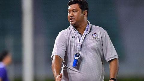 Cựu trợ lý của Kiatisak, từng khoác áo Bình Định làm HLV trưởng U23 Thái Lan