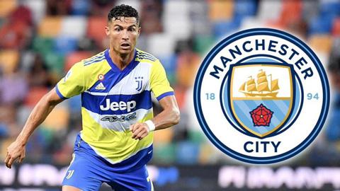 Man City đề nghị hợp đồng 2 năm với Ronaldo