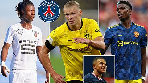 PSG sẽ mang về 3 ngôi sao hàng đầu nếu để Mbappe ra đi