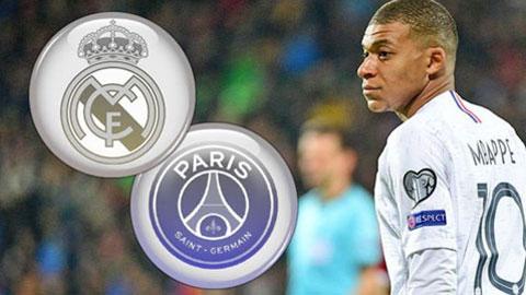PSG đồng ý đàm phán với Real về Mbappe