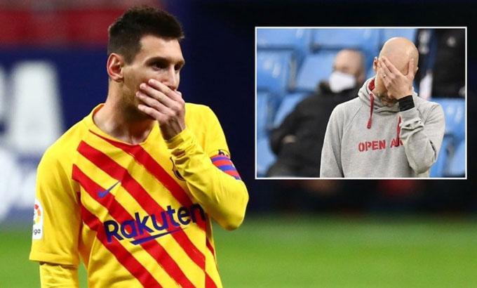 Man City cũng đã mua hụt Messi vào năm ngoái