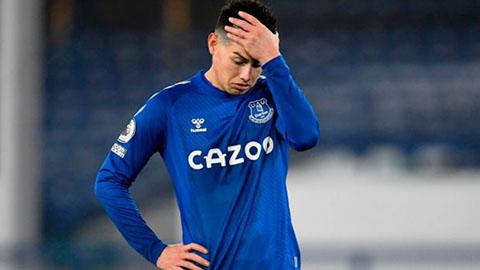 James Rodriguez trên đường trở về Porto