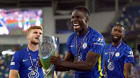 Zouma giành Siêu Cúp châu  u trong màu áo Chelsea