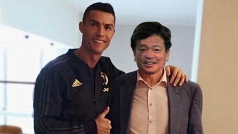 """Ông Hoàn """"pháo"""" mời Ronaldo đến Hải Phòng, tại sao không?"""